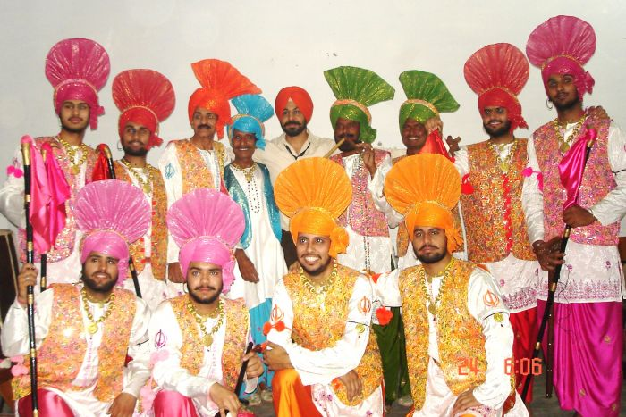 Banghra Dance Group