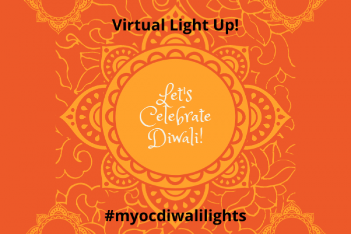 Diwali light up event for students