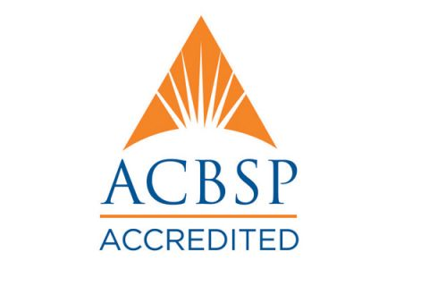 Logo for Accreditation Council for Business Schools and Programs