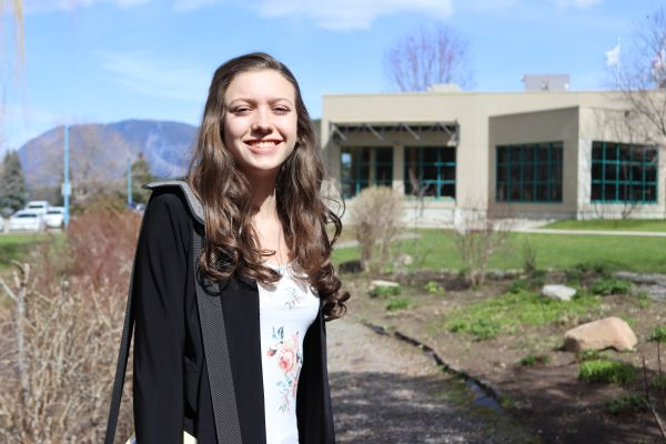 Aerial view of Salmon Arm campus