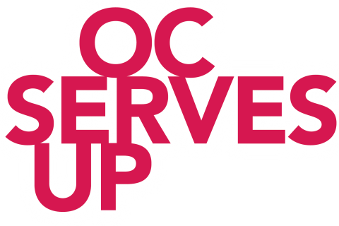 OC Serves Up logo alternate