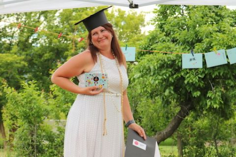 Education Assistant Graduate Toby Griffin