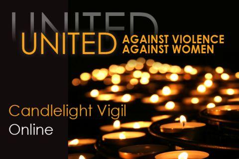 United Against Violence Against Women Online Candlelight Vigil
