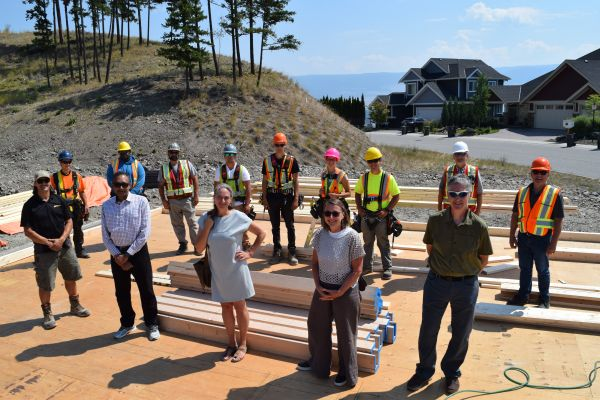 Okanagan College and UBCO collaboration powers up Wilden Living Lab Phase 2