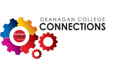 Logo for the Okanagan College Employee conference, Connections.
