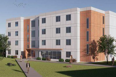 Salmon Arm campus conceptual rendering