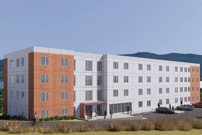 Vernon Campus conceptual rendering