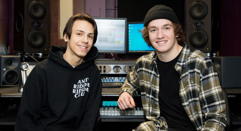 Logan Larocque and Noah Pontenteau