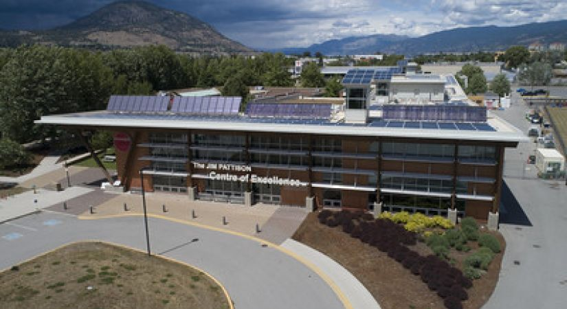 The Jim Pattison Centre of Excellence at the Penticton campus