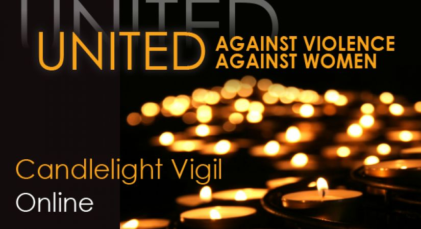 United Against Violence Against Women Online Candlelight Vigil